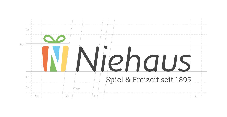Niehaus Logo konstruiert