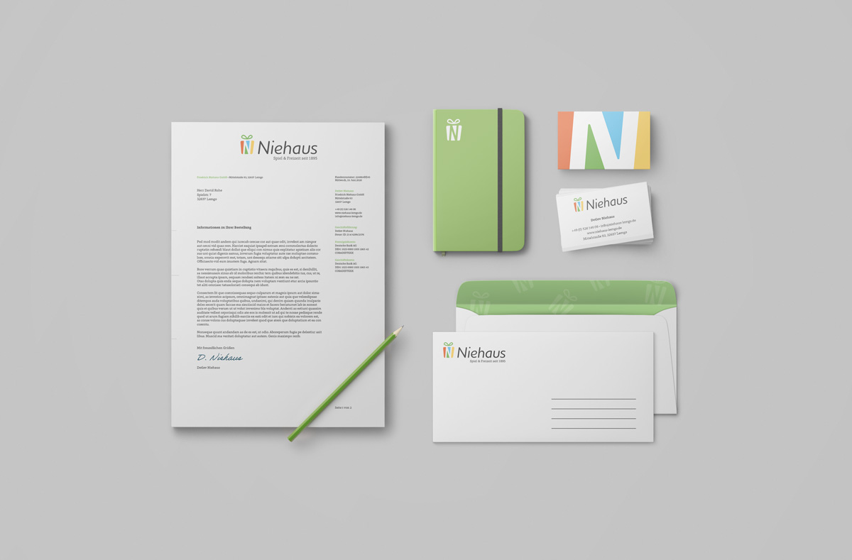 Printprodukte Übersicht Niehaus